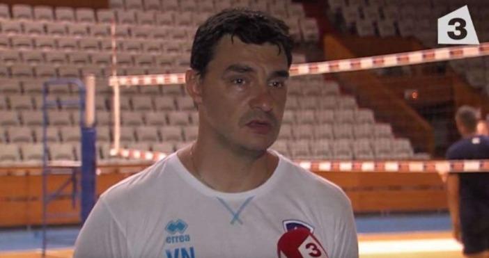 Треньорът на волейболния Левски Владо Николов даде специално интервю за