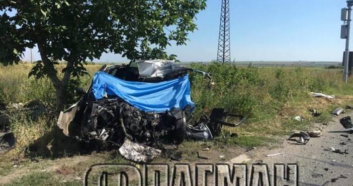 Снимка: ФлагманТрагедията в с. Лъка е неописуема след жестоката катастрофа,