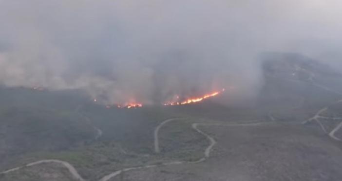 Предупреждение за нови пожари в съседна Гърция. В Испания и