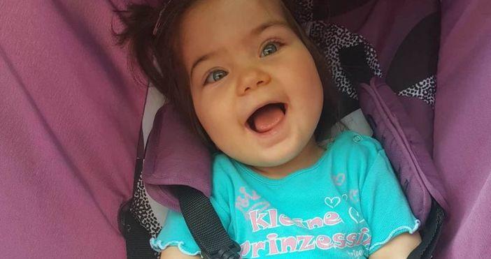 Източник:helpkarma.comМалката София е едва на 18 месеца, но страда от