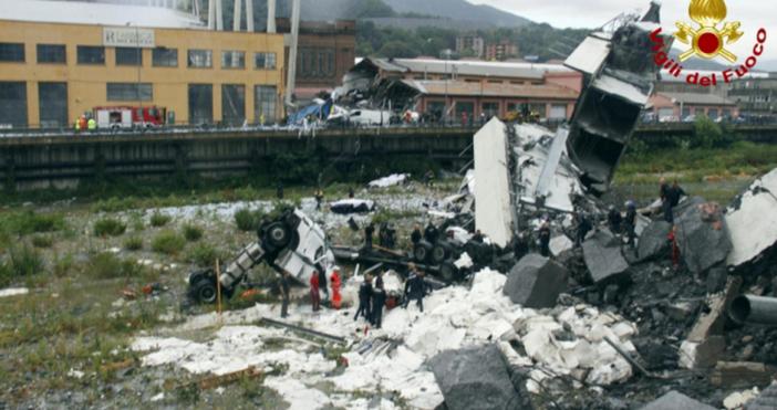 Такива мостове като в Генуа вече отдавна не се строят,