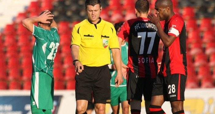 Съдийската комисия на БФСповеридвубояот петия кръг на Първа лига между