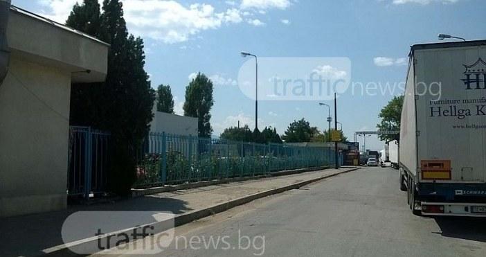 Мъж загина в района на частен митнически склад на Кукленско