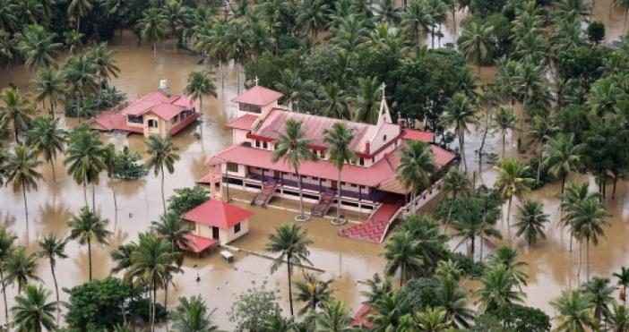Във връзка с тежкото наводнение в Южна Индия, при което