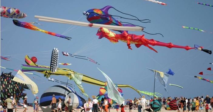 За шеста поредна година огромни хвърчила ще изпъстрят небето над