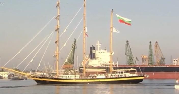 """Снимка: bTVЗагуба за ветроходния ни флот – учебно-туристическият ветроход """"Роял"""
