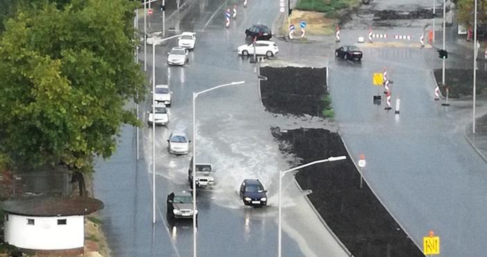 Днес във Варна заваля напълно нормално като за септември, но