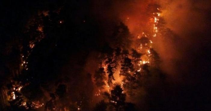Голям пожар гори в този момент край Созопол,съобщава Флагман.бг, позовавайки