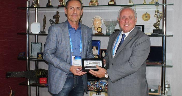 Изпълнителният директор на Двореца на културата и спорта Минко Христов
