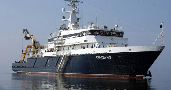 Руските военни са открили мястото в Средиземно море, където е