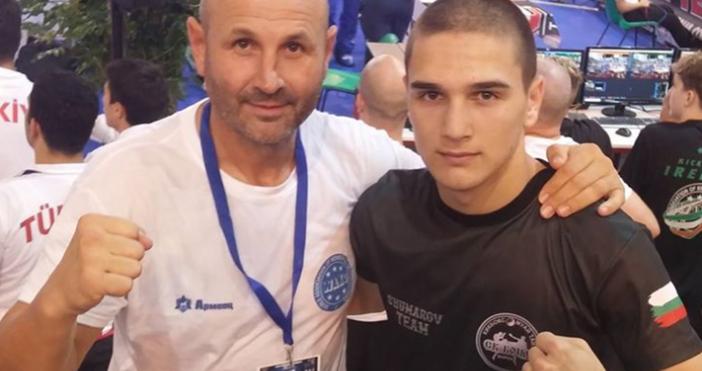 """Състезателят варненския """"Боил"""" Теодор Христов си осигури медал от световното"""