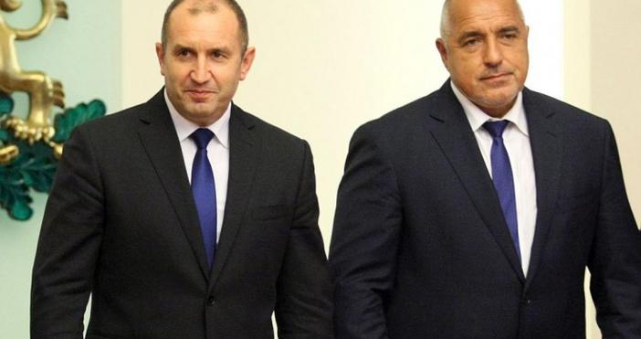 Премиерът Бойко Борисов ще обсъди първо с президента Румен Радев