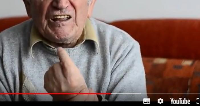 Петър Стаменове 90-годишен, живял е в Царска България, после в
