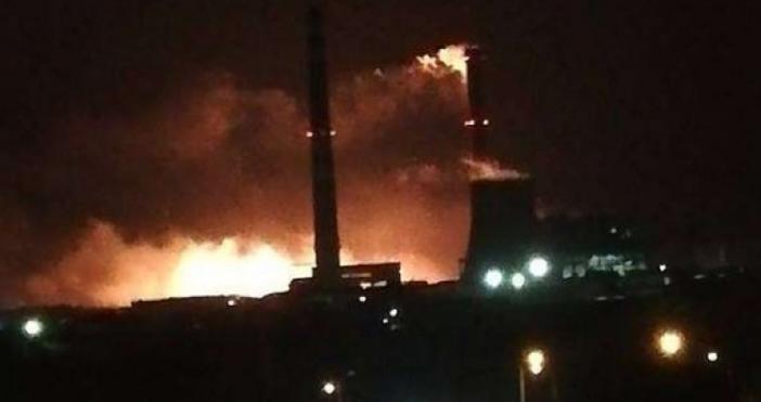 снимки: Канал3Голям пожар се разрази в ТЕЦ
