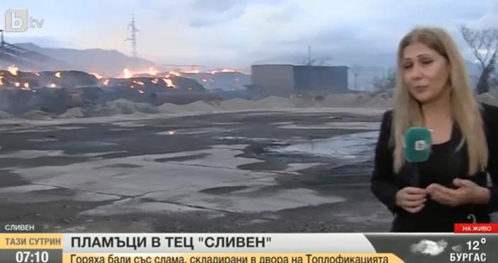 Снимка: БТВПовече от трипожарагасят сливенските огнеборци в момента, като в