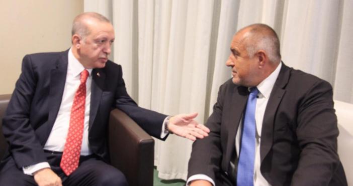 Министър-председателятБойко Борисови турският президент Реджеп Тайип Ердоган обсъдиха задълбочаването на
