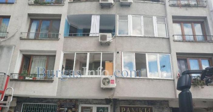 Снимки: burgasinfo.comМладият мъж, който загина след скок от терасата на
