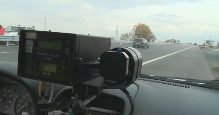снимка, архив БТВПолицаи в Разградско засякоха шофьор, движещ се със