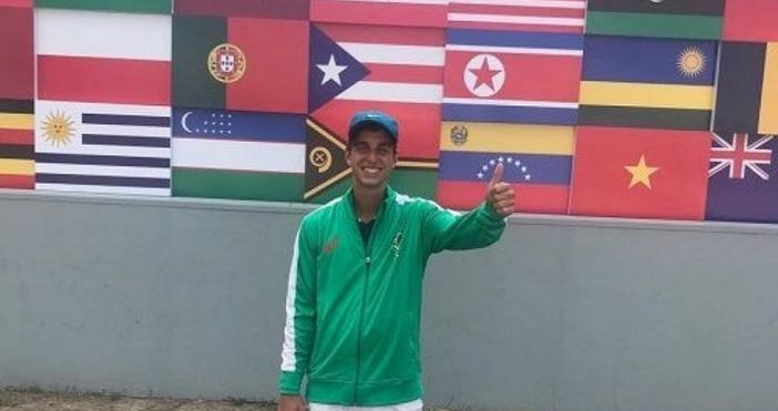 Талантливият български тенисист Адриан Андеев се класира за полуфиналите на