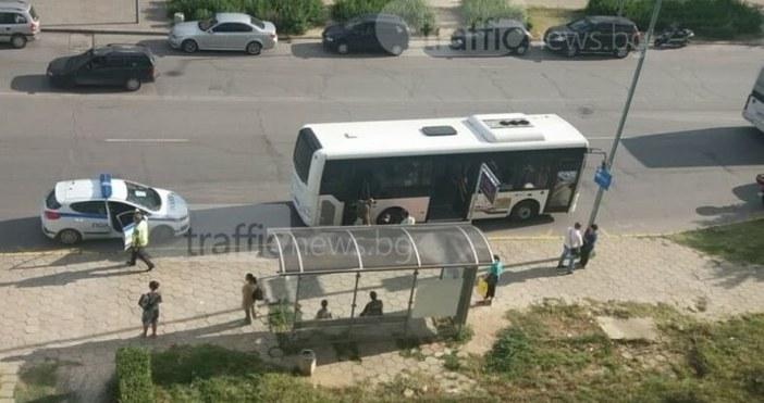Трафик НюзПочина пловдивчанката ударена от автобус от градския транспорт в