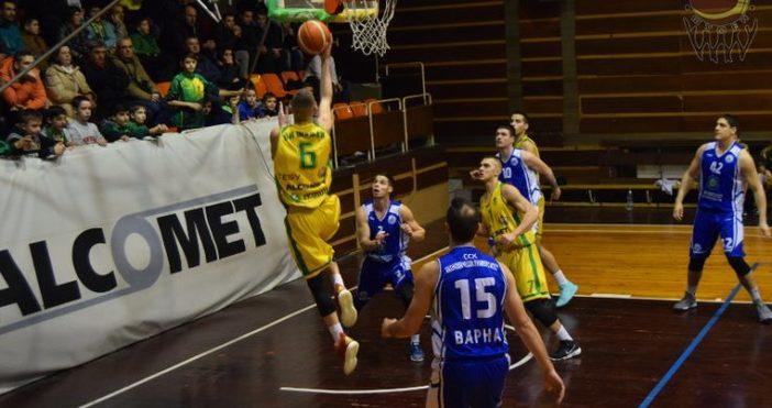 Снимка: shumenbasket.orgШумен стартира с победа сезон в баскетболната