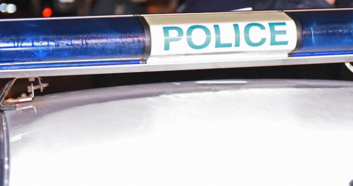 Снимка: БулфотоПътнотранспортно произшествие е станало между полицейски микробус и лек