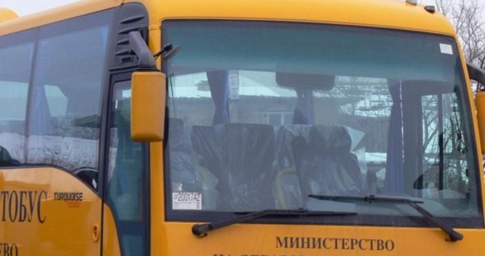 Снимка Булфото, архив54-годишен шофьор на училищен микробус почина по време
