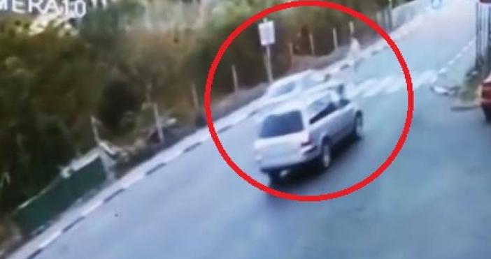 Пострадалият беше ударен на пешеходна пътекаNOVA разполага с кадри от