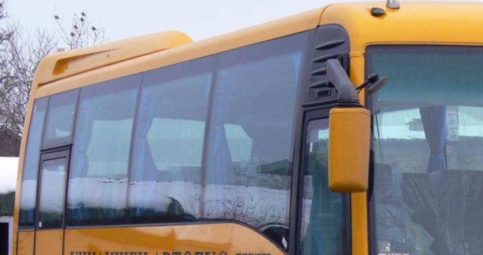 Снимка БулфотоМъжът, катастрофирал в понеделник с училищния автобус в Кюстендилско,