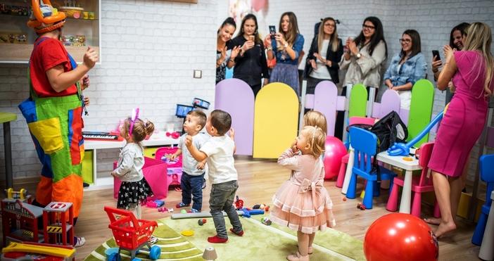Най- новият развлекателен детски кът в гр. Варна отвори врати