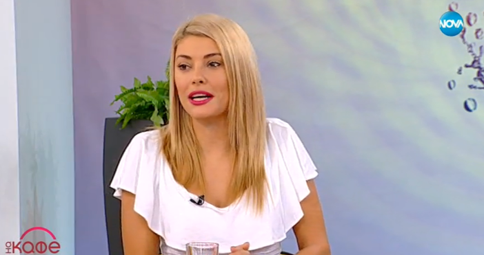 Току що в ефира русото изкушение Ева Веселинова разкри своята