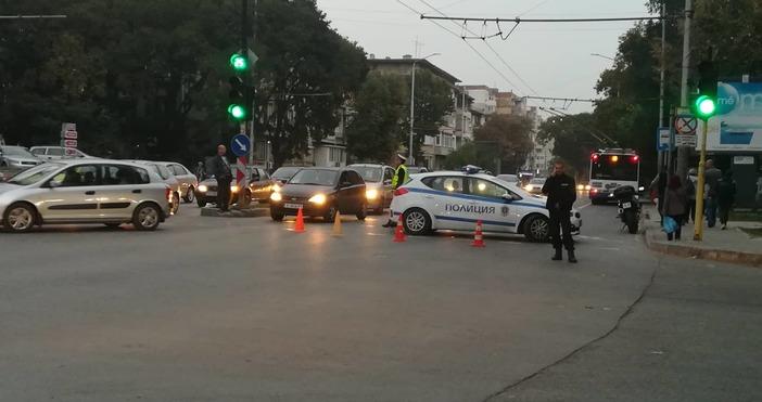 От полицията във Варна обявиха току-що, че катастрофата на бул.