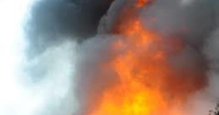 Снимка Булфото57-годишният Константин Боев намери смъртта си след възникнал пожар