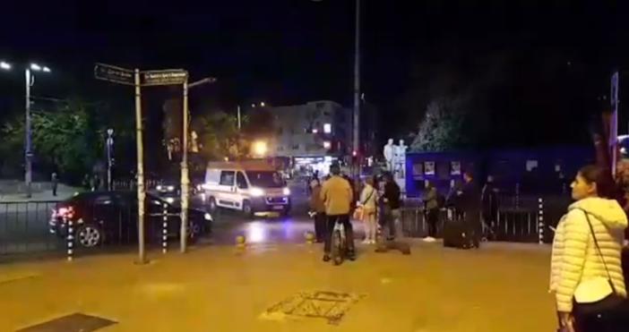 25-годишен е мъжът,който тази вечер пострада на метростанция Стадион
