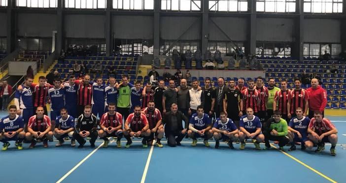 Локомотив продължи победния си ход в мъжкото хандбалното първенство, след