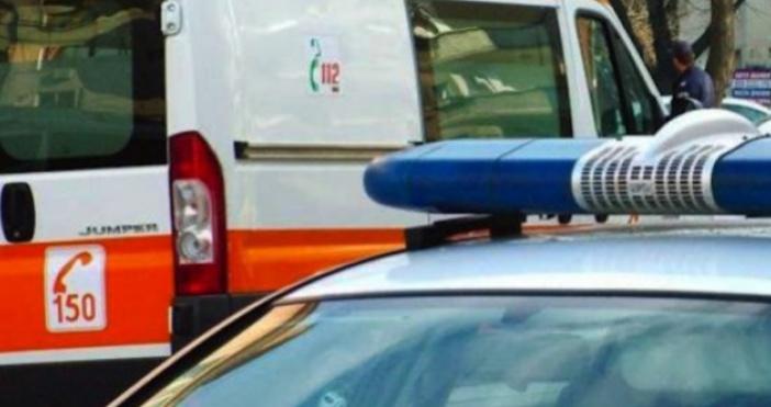 Снимка БулфотоПътен инцидент е станал на Околовръстен път преди разклона