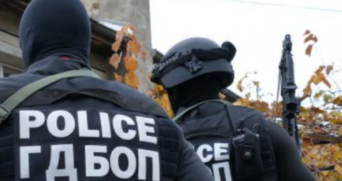 Снимка пресцентър на МВРОперация на ГДБОП срещу престъпна група за