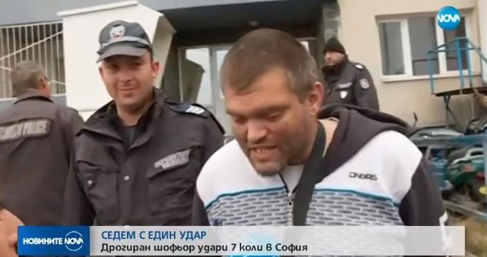 Само по NOVA говори Слави Миладинов - дрогираният шофьор, който