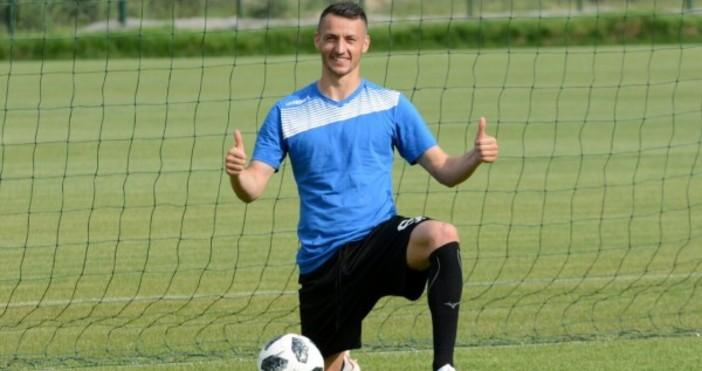 Футболистът на Черно море Атанас Зехиров стана татко за първи