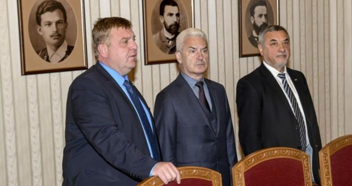 Снимка БулфотоПремиерът Бойко Борисов свиква коалиционните си партньори от Обединените