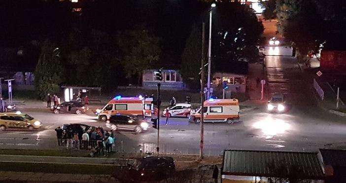 снимка:Гален СтаневВиждам те КАТ - ВАРНАИзключително тежък инцидент преди около