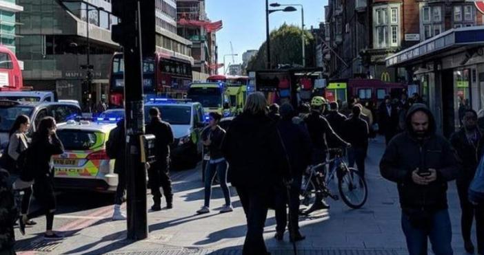 Мъж е починал след като е бил ударен в Лондон