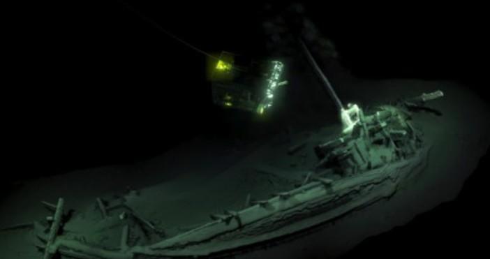 Археолози откриха в Черно море на по-малко от 100 км