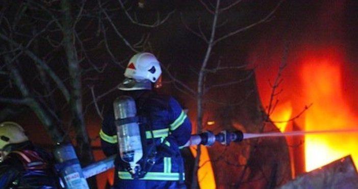 илюстрация БулфотоСнощи около 23:00 часа, е получен сигнал за пожар