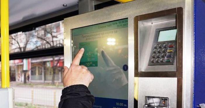 Снимка: От утре: Продажбата на билети по още 11 автобусни линии във Варна става автоматична