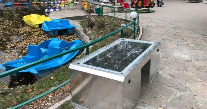 © Varna24.bgУмна пейка ще заработи от днес в Детския кът