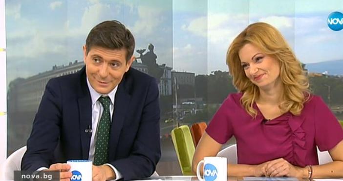 Водещият на сутрешния блок на Нова телевизия Виктор Николаев призна,