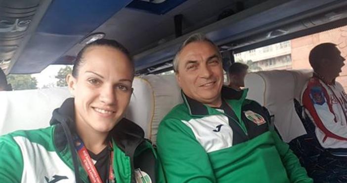 Снимки: фейсбукСтанимира Петрова излиза срещу американката Рияна Риос в първия
