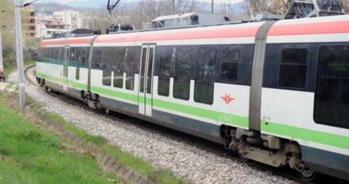 Снимка БулфотоПолицията е спряла влак в района на Вакарел зарадинамушкан