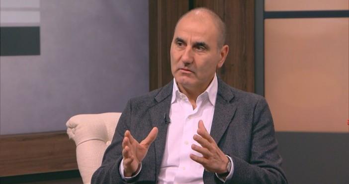 Снимка: bTVОттеглянето от правителството на вицепремиера и лидер на НФСБ